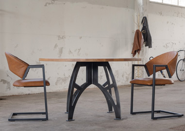 Ronde Tafel Industrieel : Stoere tafels design tafels industriele tafels de tafelfabriek