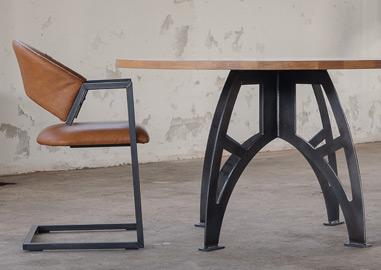 Ronde Eethoek Tafel : Stoere tafels design tafels industriele tafels de tafelfabriek