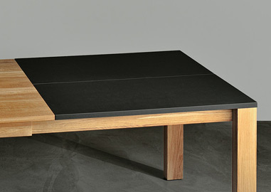 Vierkante Uitklapbare Eettafel.Stoere Tafels Design Tafels Industriele Tafels De