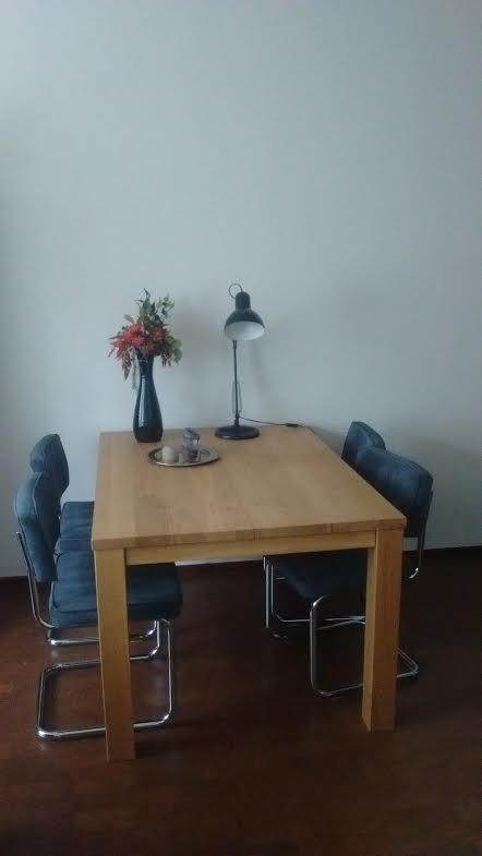 Klantervaring van Izaac; Eiken tafel Leeuwarden