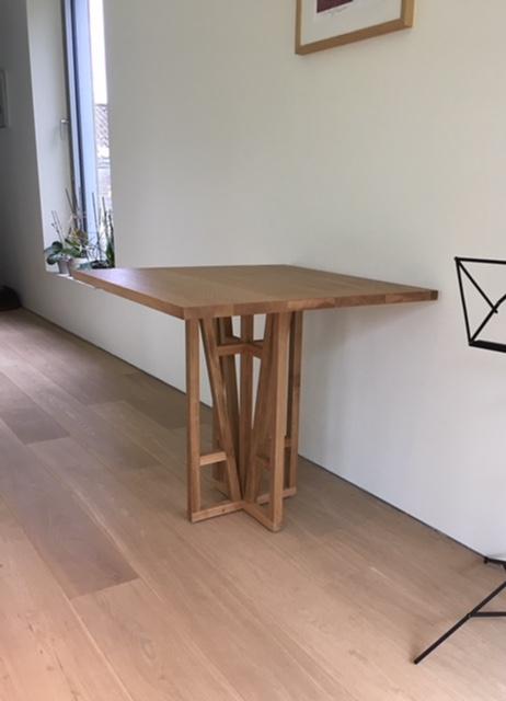 Vierkante tafel op maat