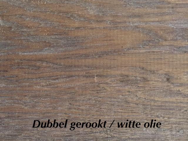 Dubbel gerookt witte olie