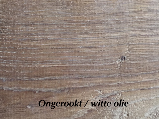 Ongerookt wit olie