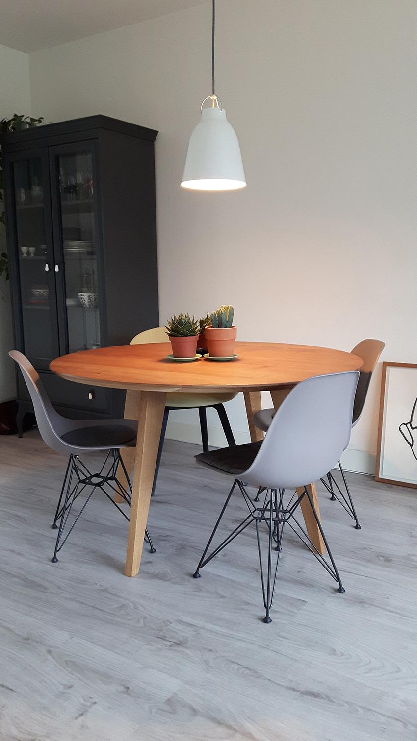 Ronde moderne eettafel review Heiloo