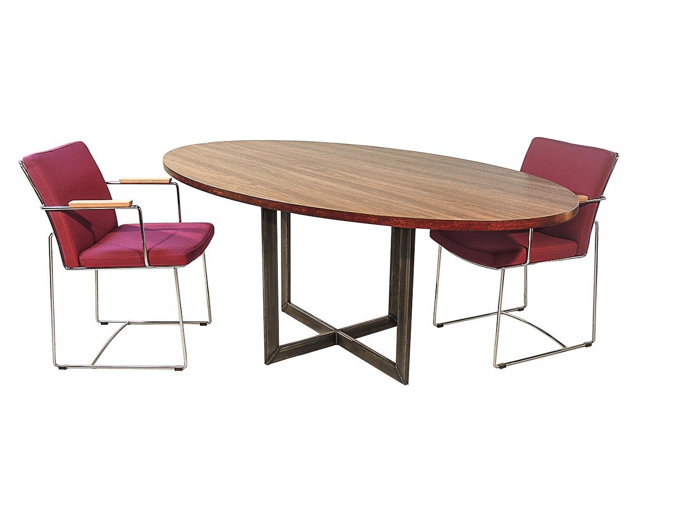 Bari - Stalen onderstel tafel