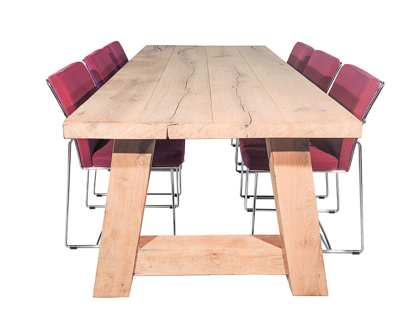 Robuuste Eiken Tafel : Eiken tafels meer stoeretafels