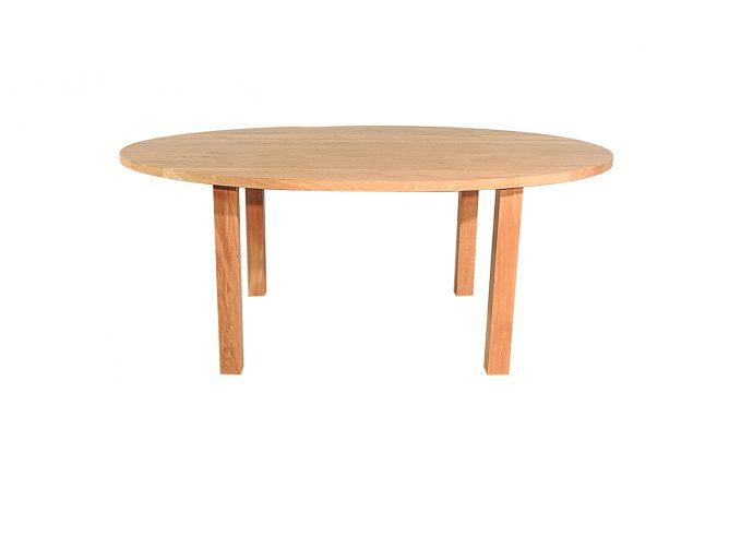 Caen – Ovale eiken tafel