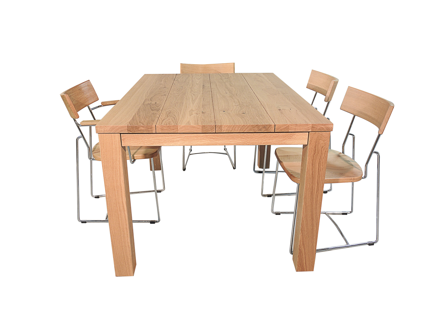 Uittrekbare Eiken Tafel.Kassel Uittrekbare Eettafel Voor Een Scherpe Prijs