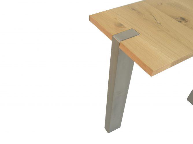 Lecce- RVS tafelonderstel