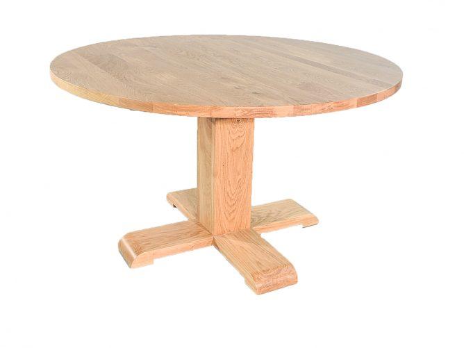 Nancy - Ronde eiken tafels op maat