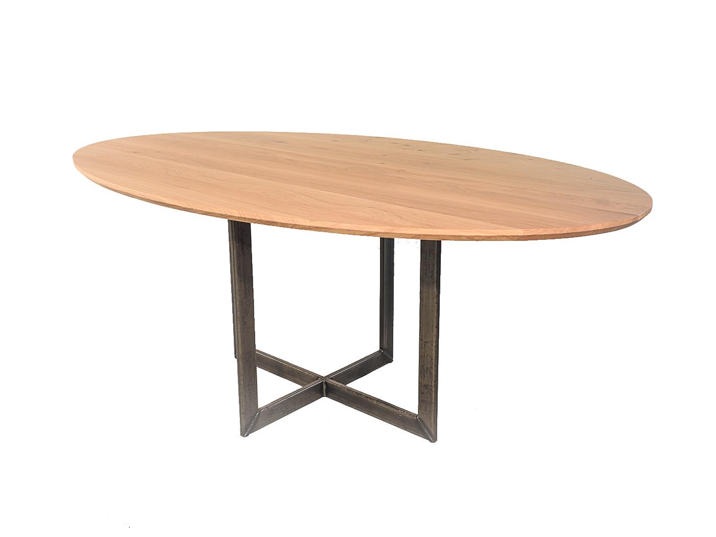 Ovale eettafel op maat ovale tafels de tafelfabriek