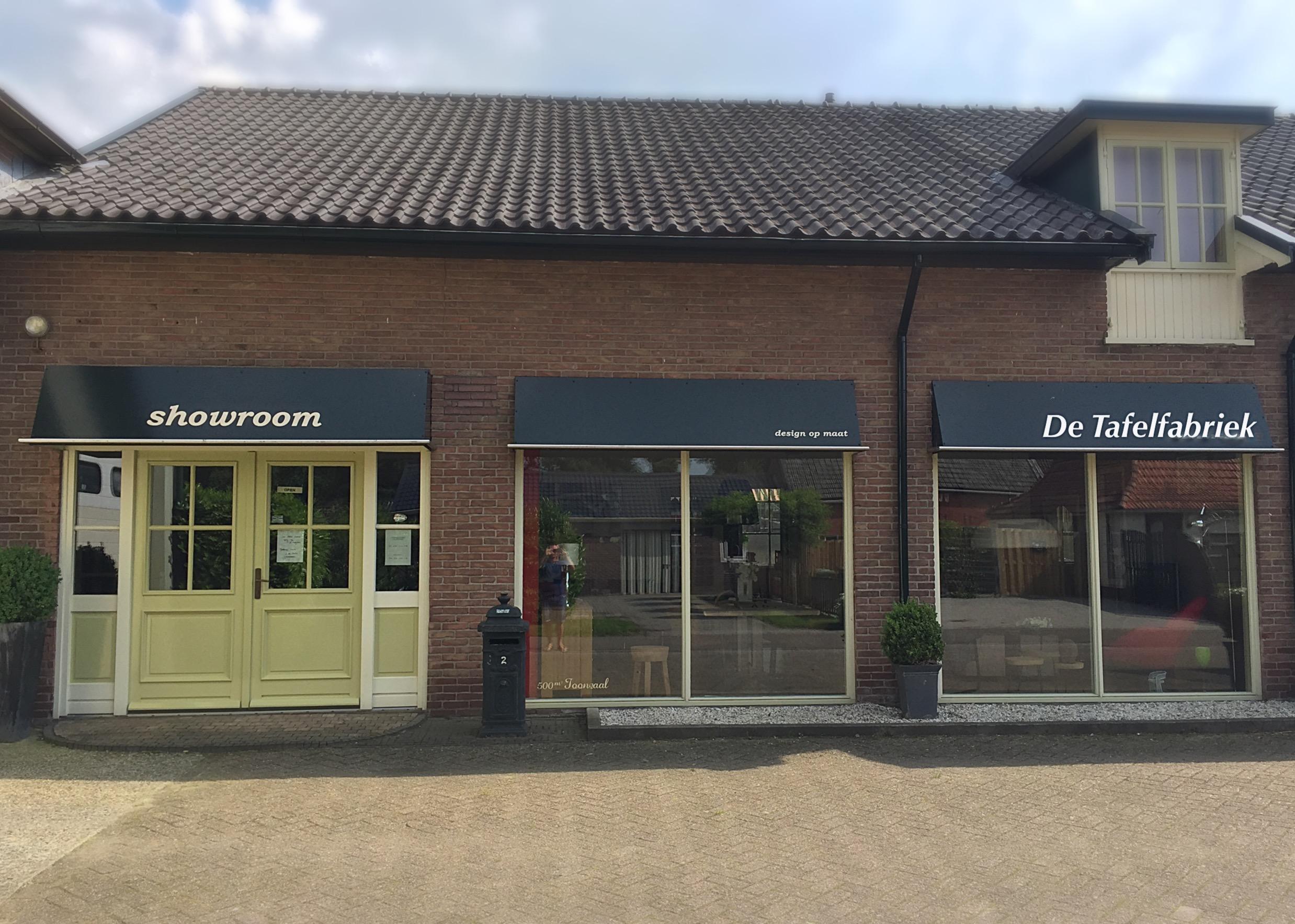Meer dan 500m2 showroom in Noordwolde