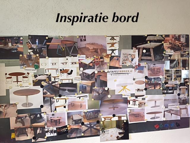 Inspiratie bord voor uw ontwerp