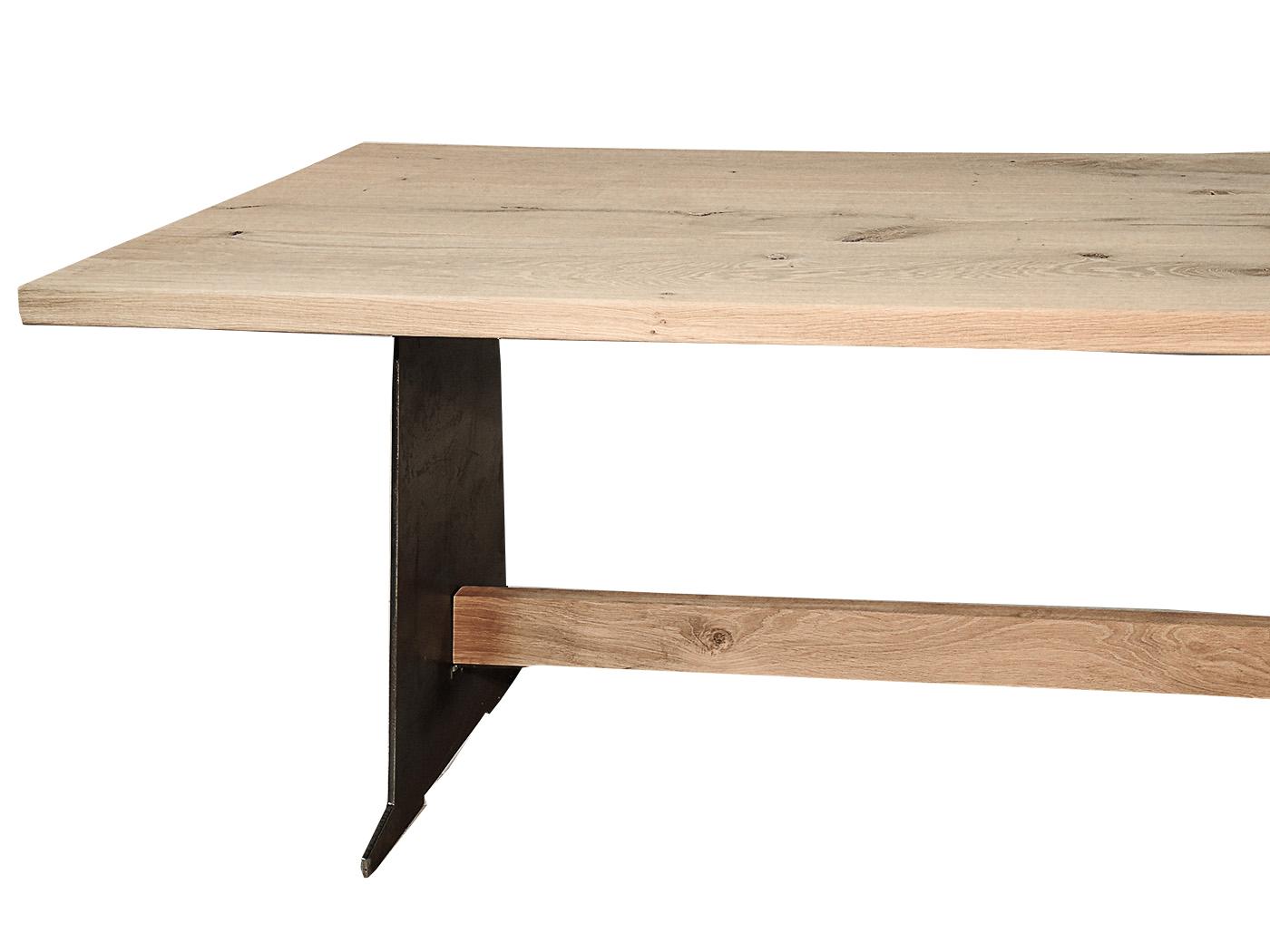 Phoenix - Stalen onderstel tafel