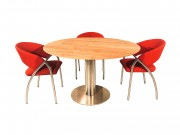 Lucca - Ronde design eettafel