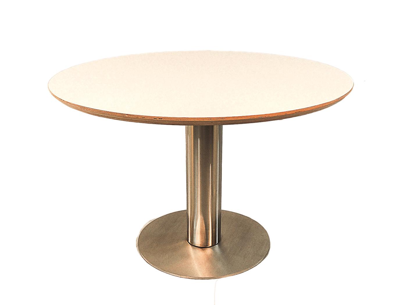 Orvieto ronde tafel met wit blad