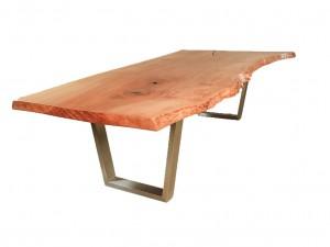 Ontario - Boomstam tafel van plataan hout