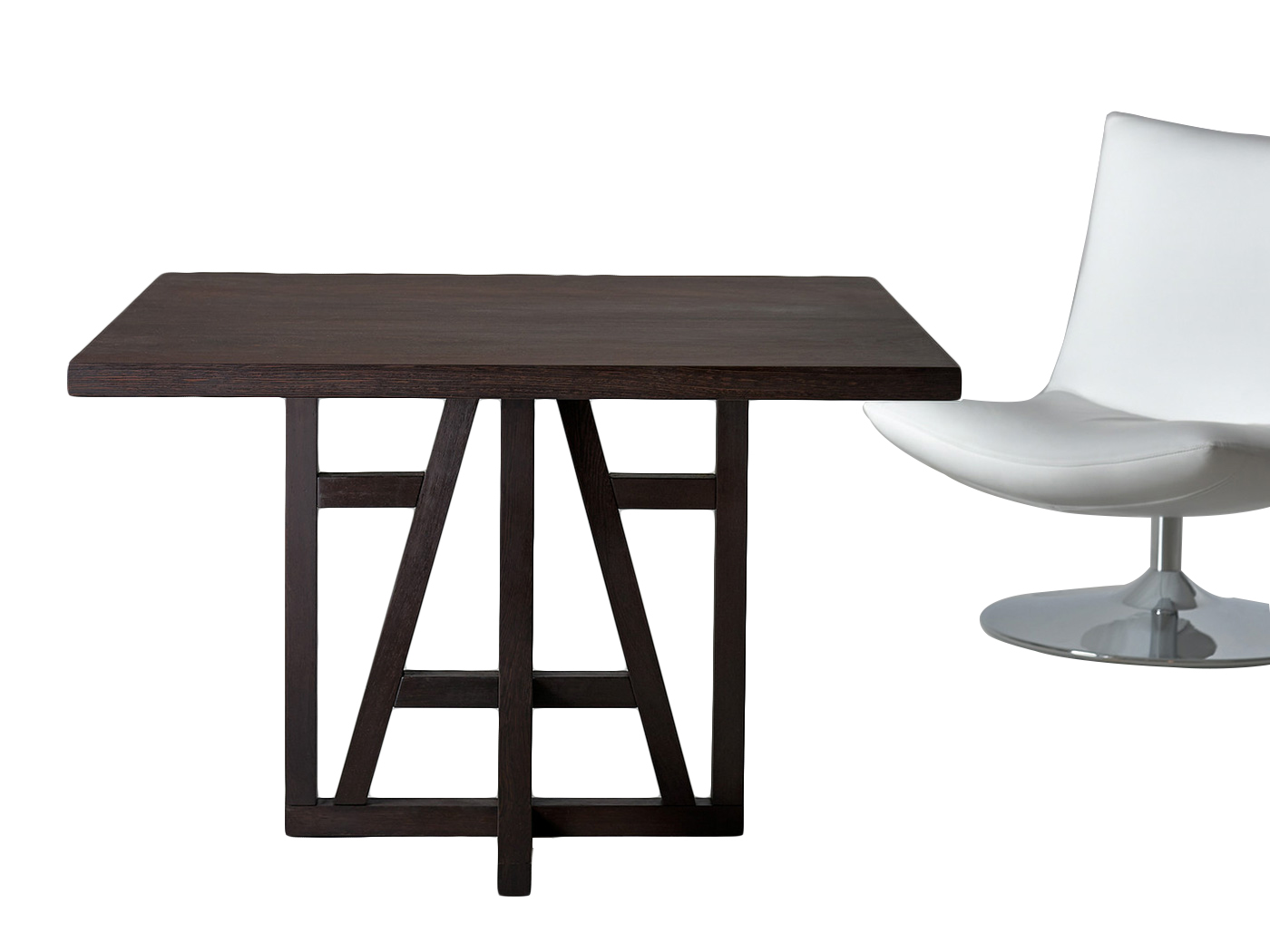 Design Vierkante Eettafel.Salzburg Vierkante Houten Eettafel