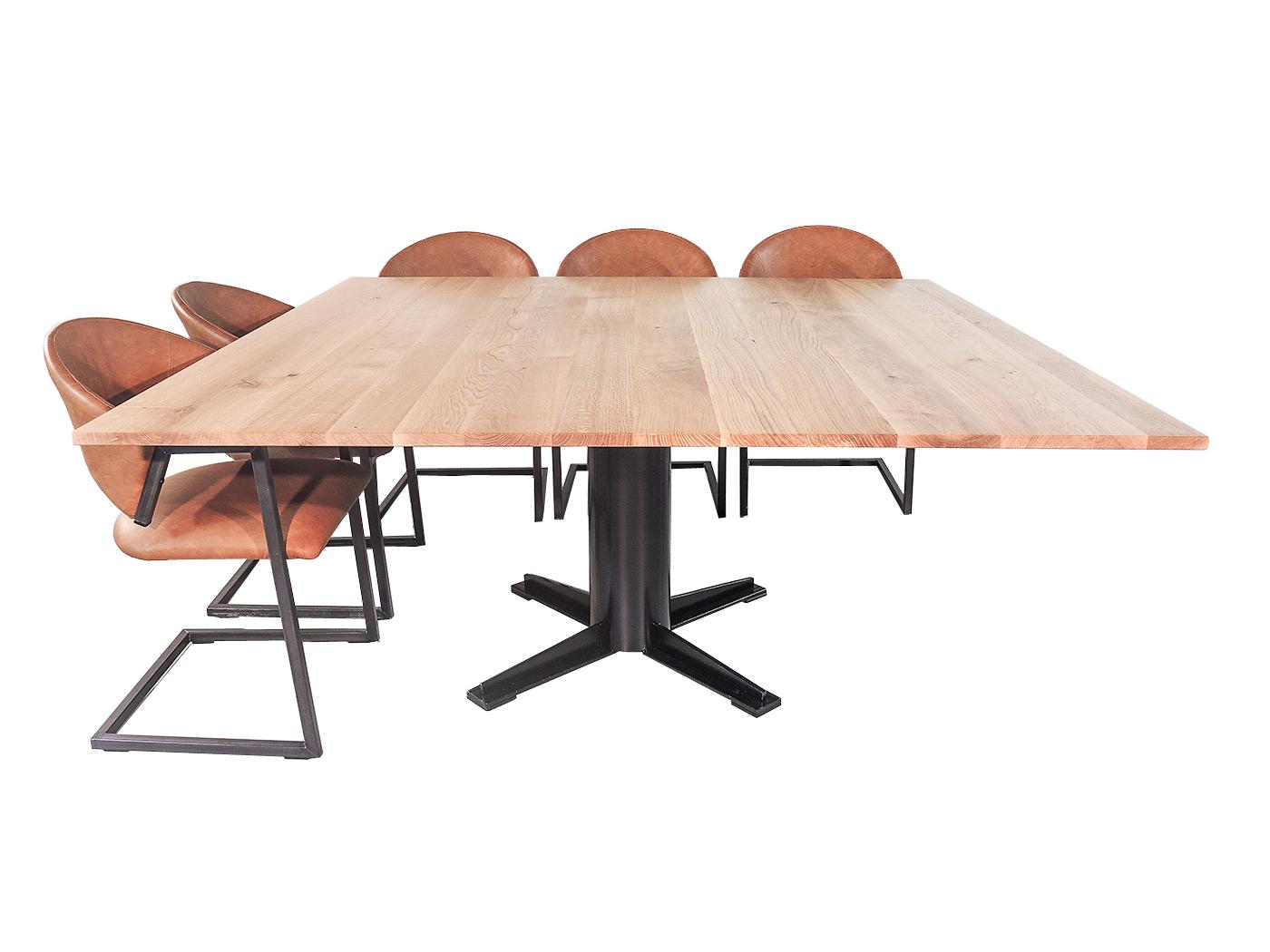 Vierkante Eettafel 4 Personen.Nevada Vierkante Eettafel Voor 8 Personen