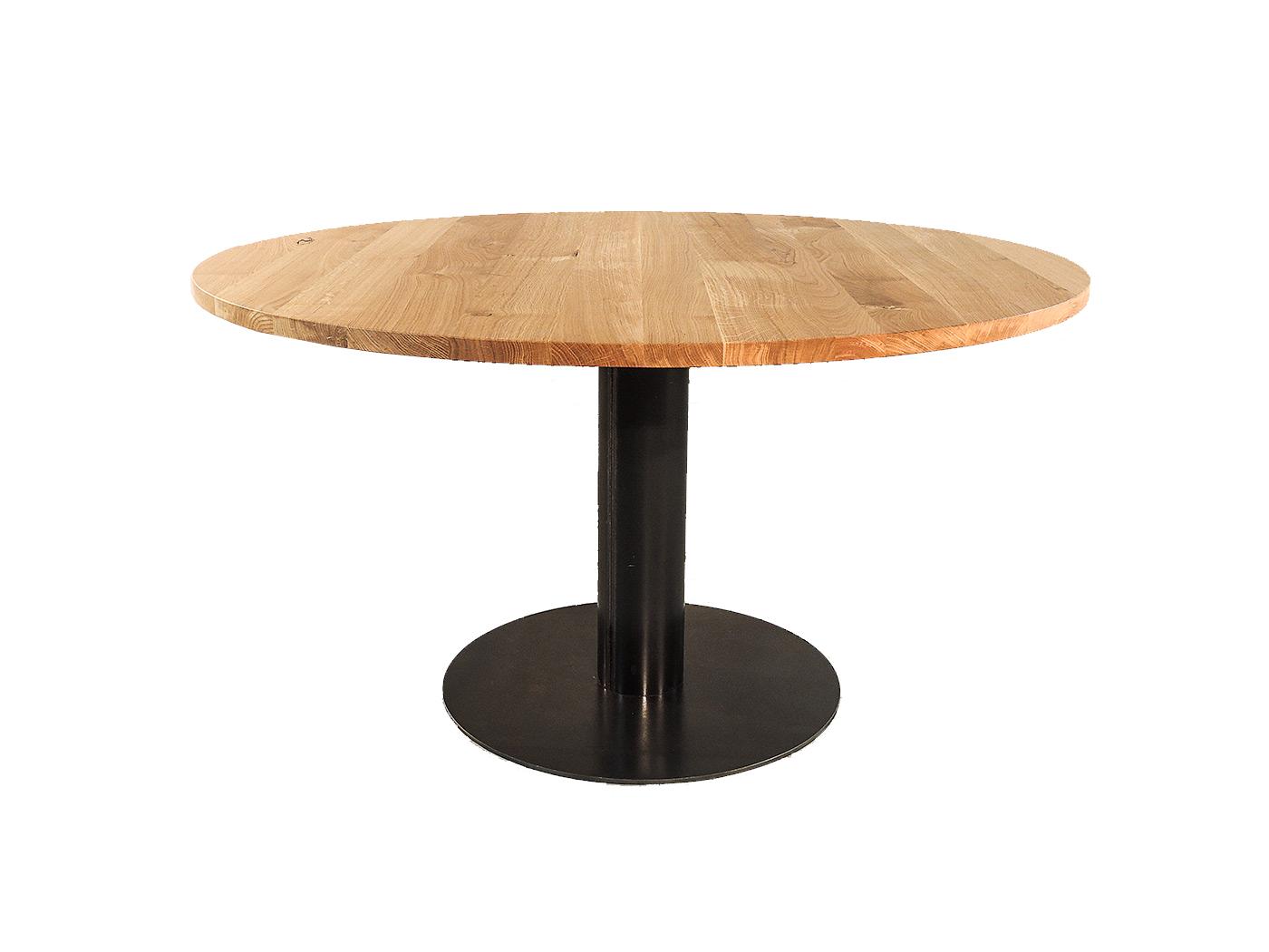 Ronde Tafel Industrieel : Maine elegante ronde eettafel