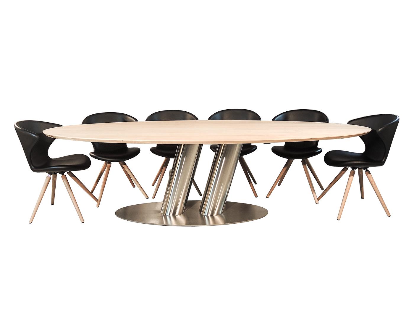 Ronde Eettafel 10 Personen.Puglia Grote Ovale Design Tafel