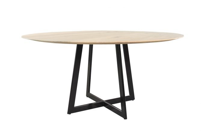 Ronde moderne tafel Oregon