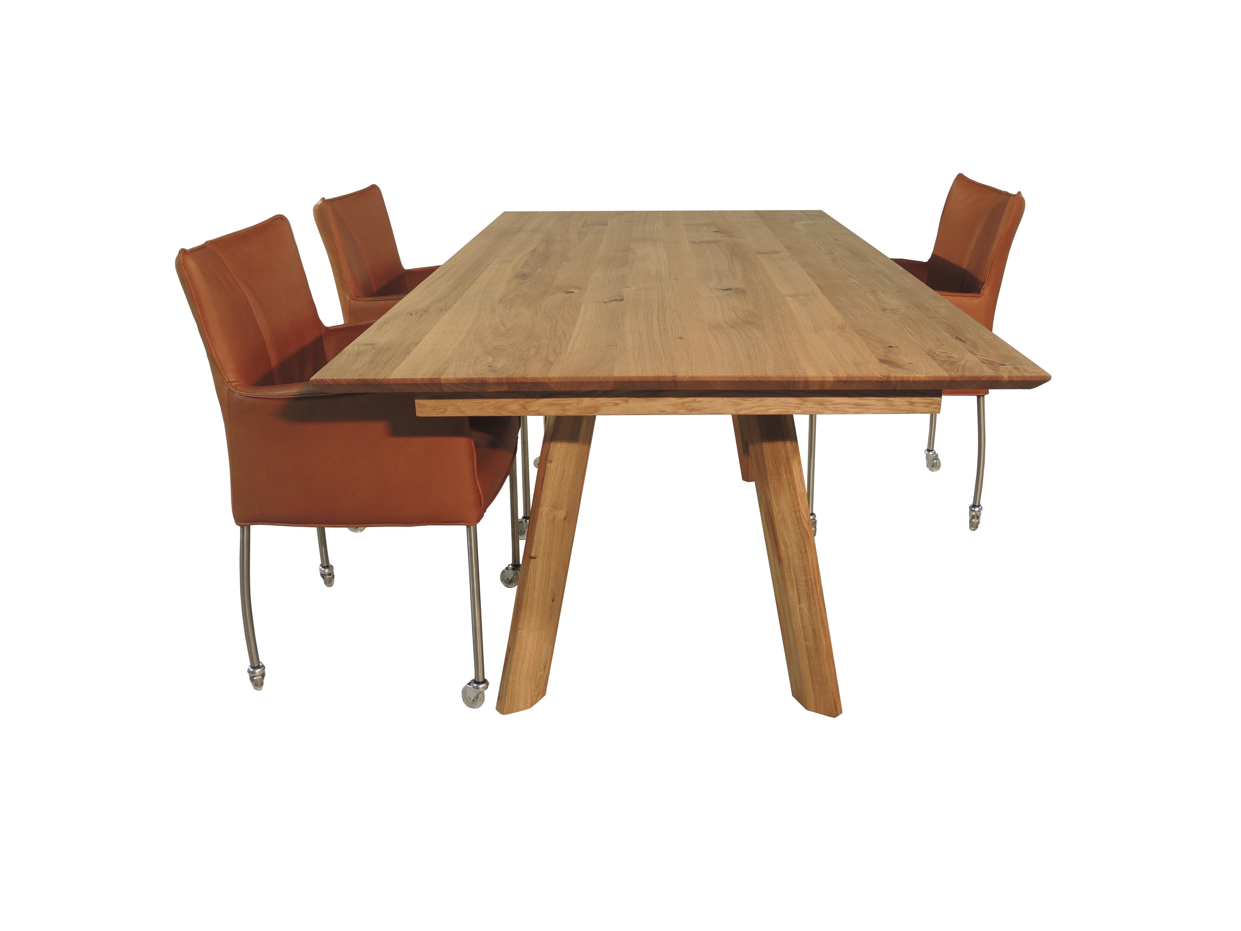 Moderne Uitschuifbare Eetkamertafels.Trier Uitschuifbare Eettafel