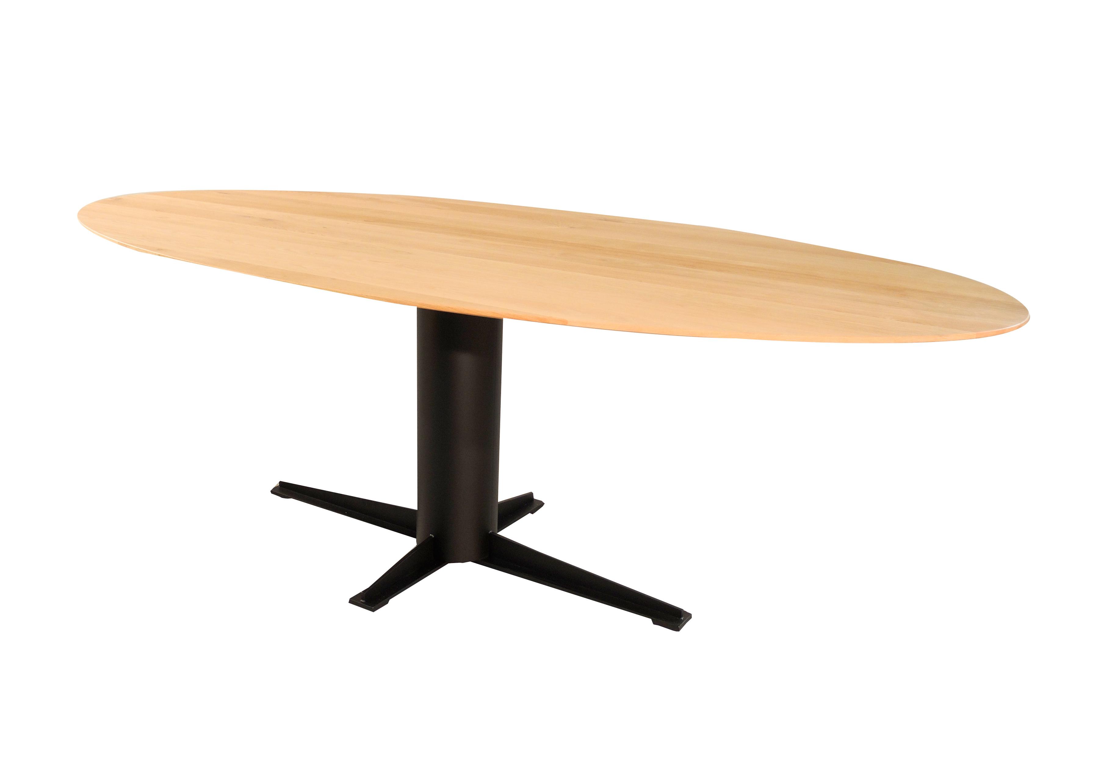 Ovale tafel design