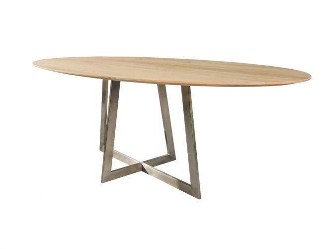 Varese- Moderne strakke ovaal tafel