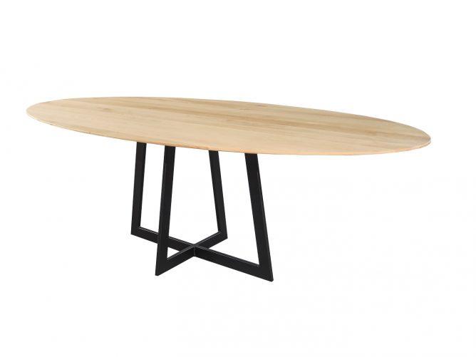 Varese – Ovale design eettafel