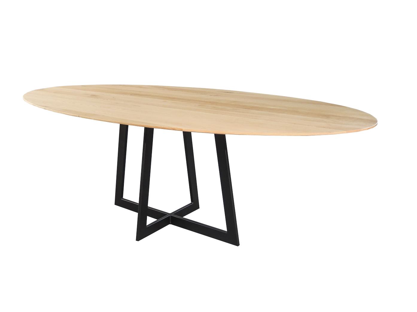 Varese - Ovale design eettafel