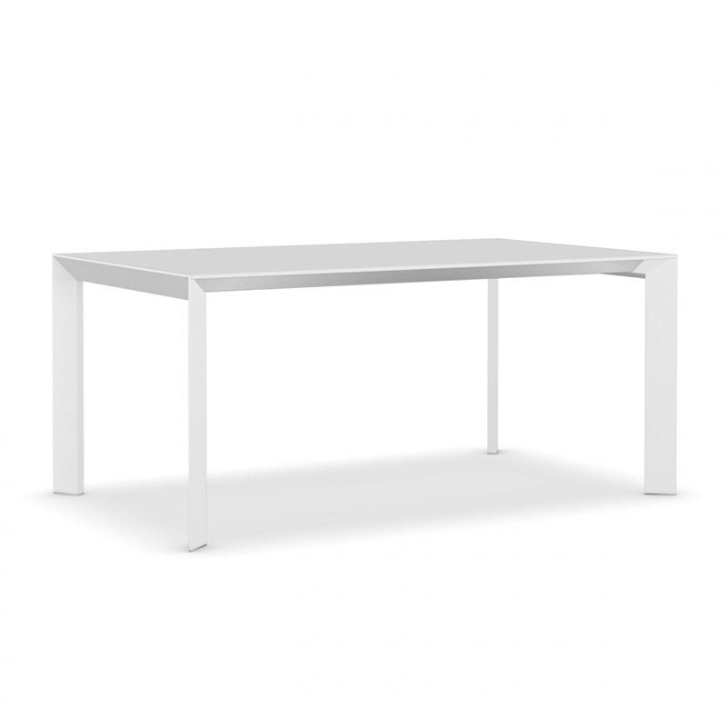 Witte Uitklapbare Tafel.Lecce Uitschuifbare Tafel De Tafelfabriek