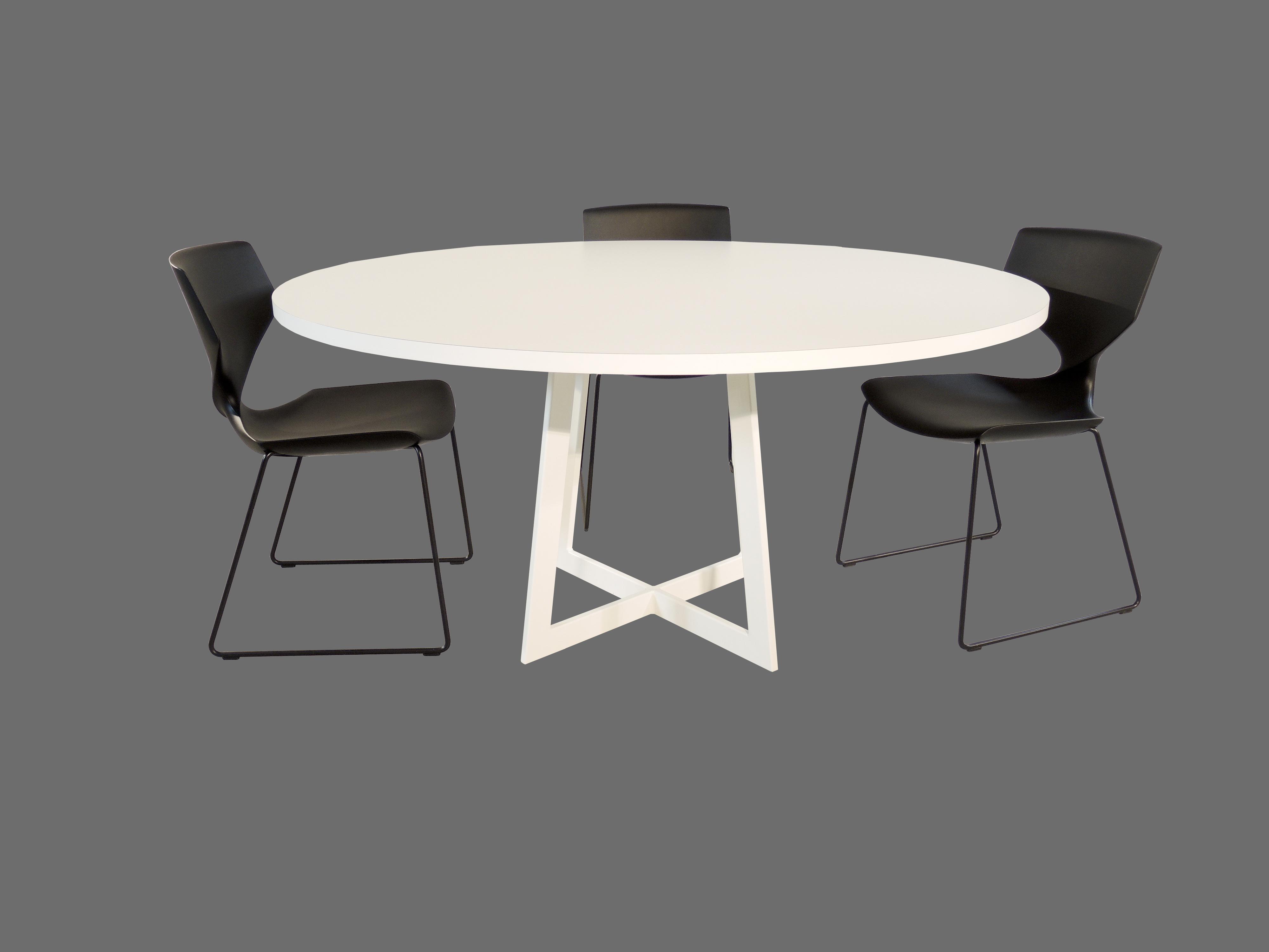 Carzello ronde design tafel