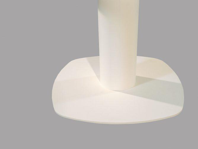 Empoli – Design eettafelpoot wit