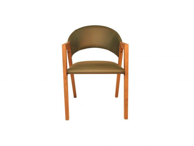 Ruben – Leren bekleding stoel