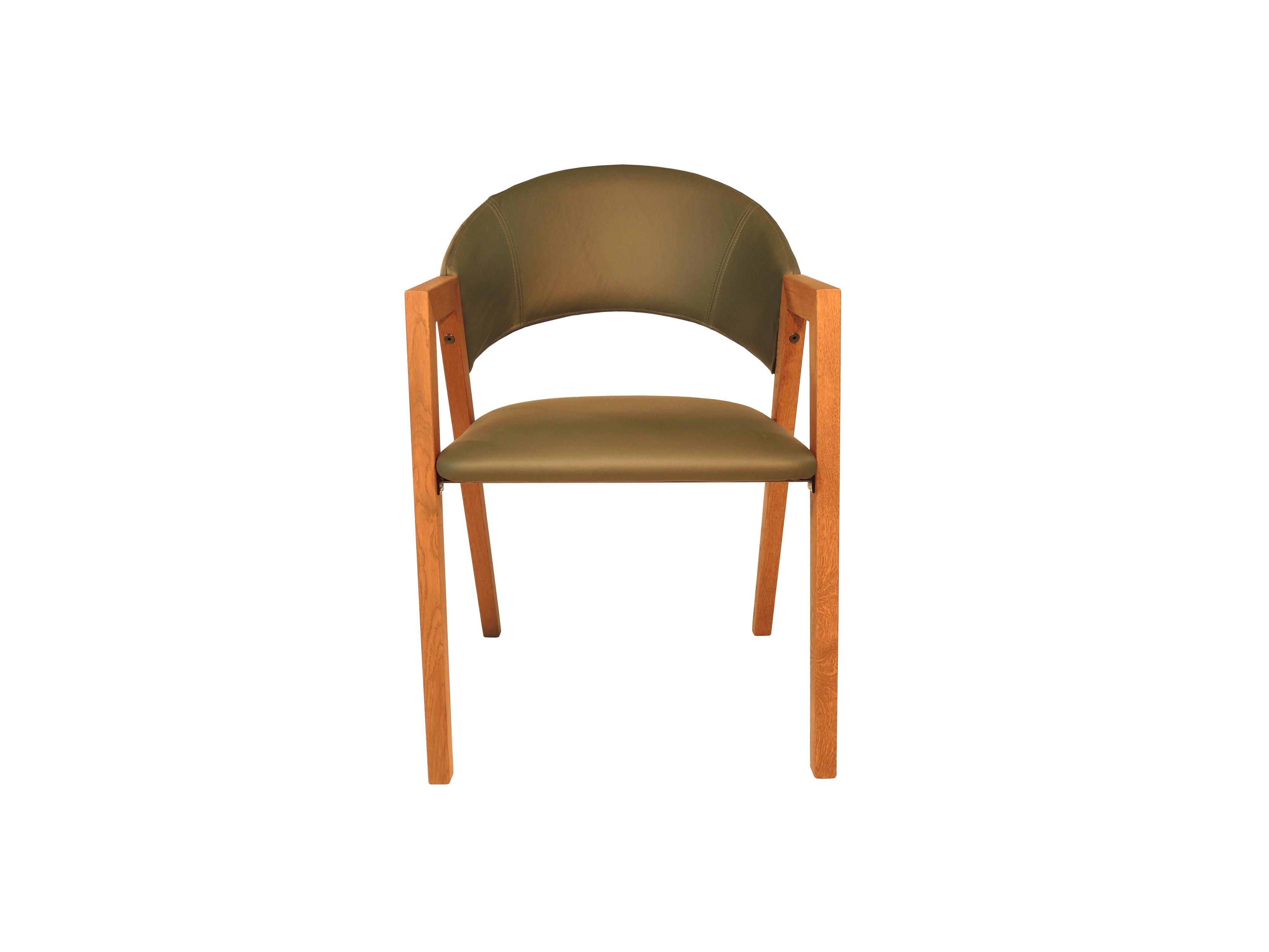 Ruben - Leren bekleding stoel