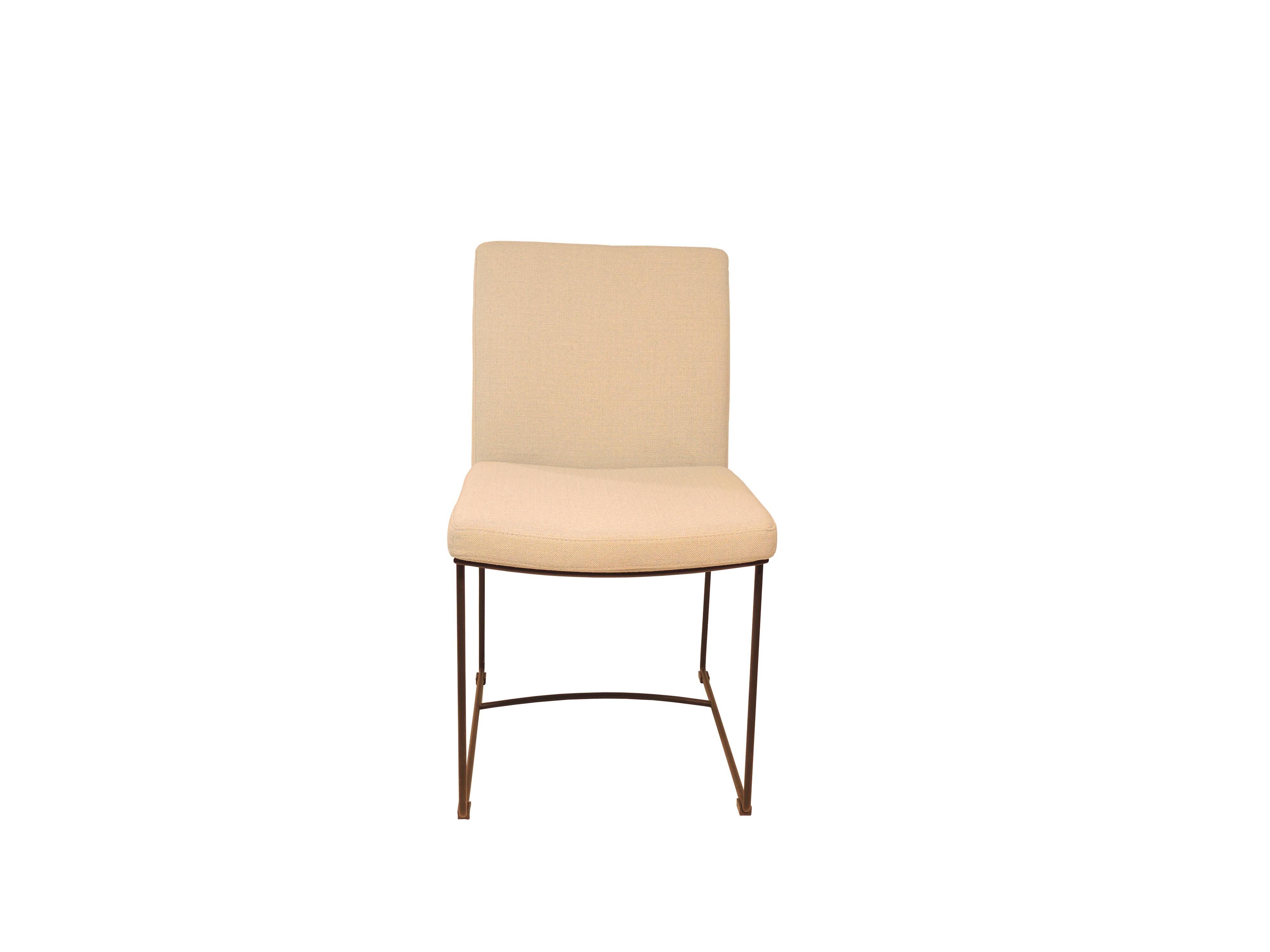 Zandro - Mat zwart stoel