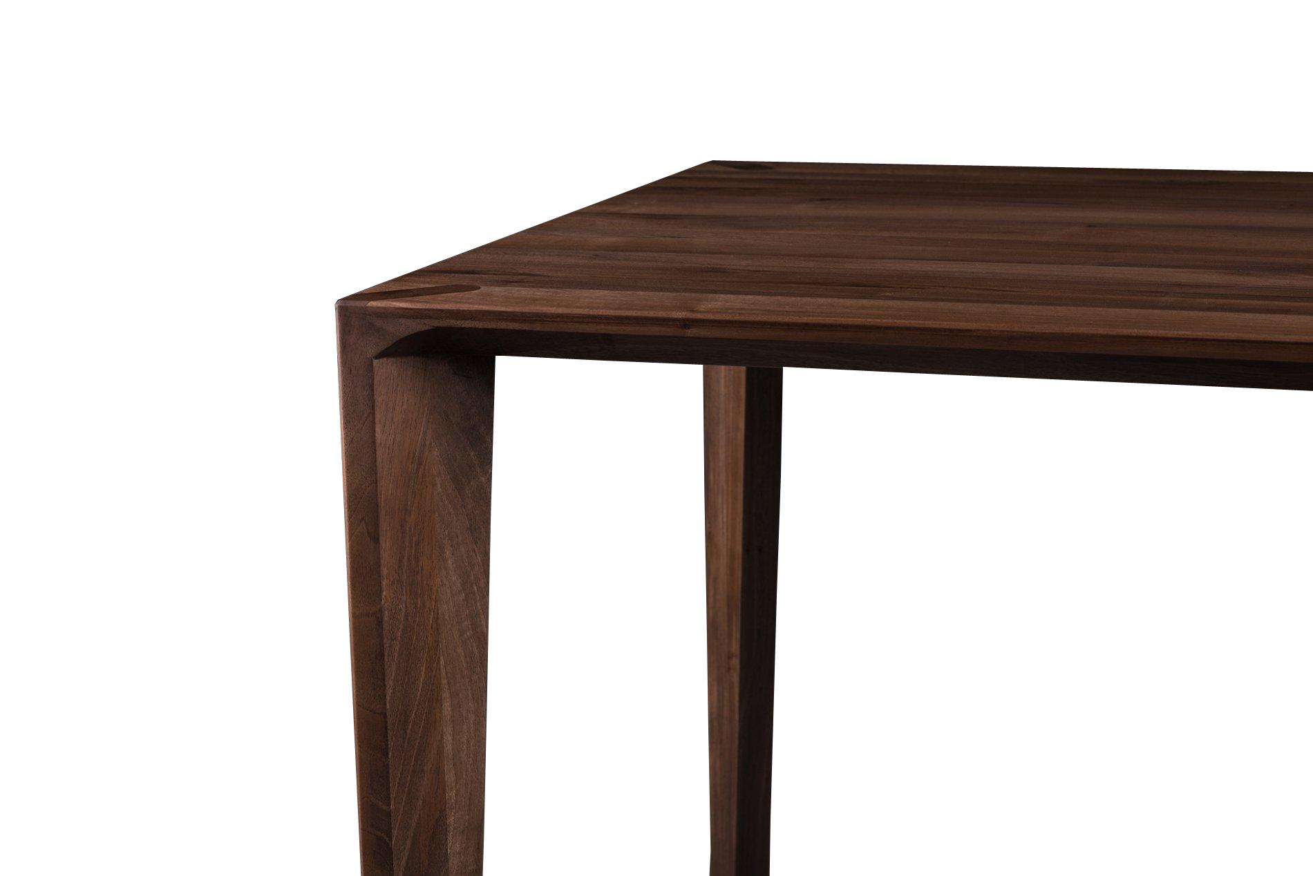 Hanny - Notenhouten moderne tafel
