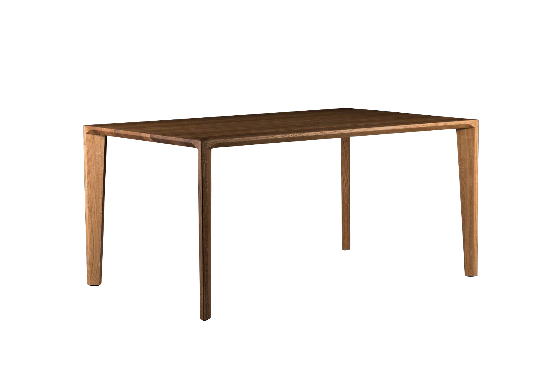Notenhouten Salon Tafel.Hanny Moderne Tafel