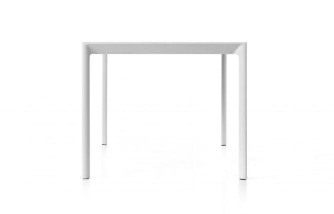 Aosta - Witte uitschuifbare tafel