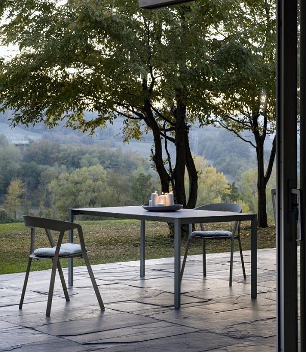 Rocca outdoor eettafel